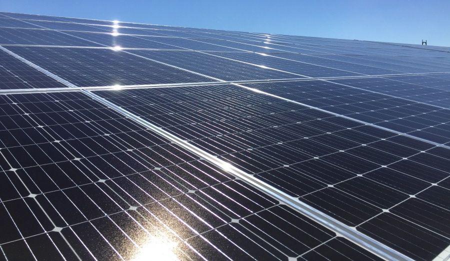 Photovoltaik-Anlage Solarkraftwerk Müba